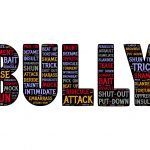 Image with the word BULLY. How to become an ANTI BULLY.